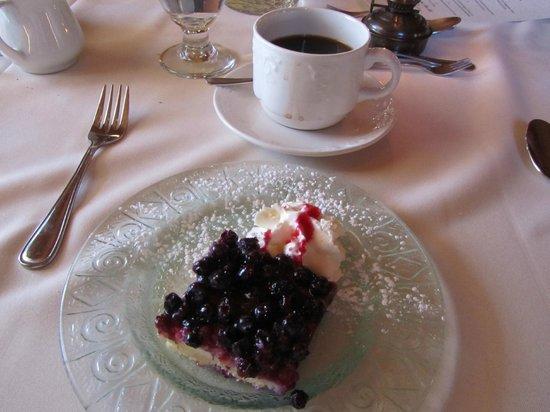 Twine Loft: Lemon-Blueberry torte