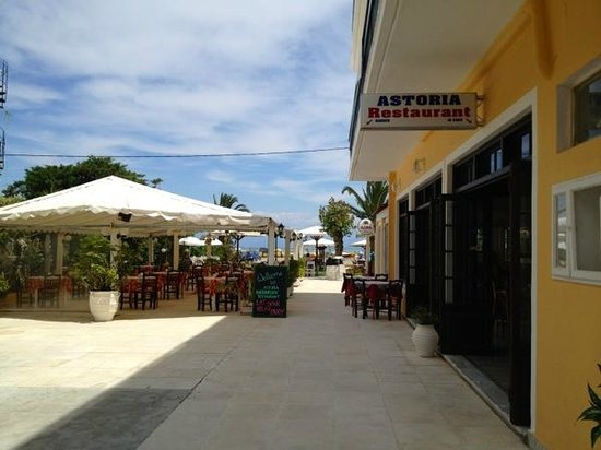 Hotel Astoria Sidari: Entrance