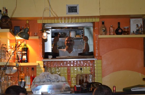 L'Osteria dell'Anima : Omar is the best