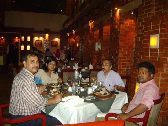 My colleagues and I, we were enjoying Ambrosia