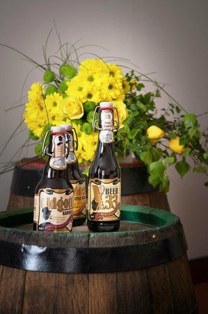 Brewery Hotel U Medvidku: Just beer