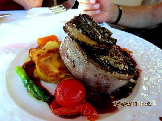 Vall de Cavall : le filet d'Angus et sa tranche de foie gras