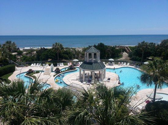 Litchfield Beach & Golf Resort: view from room