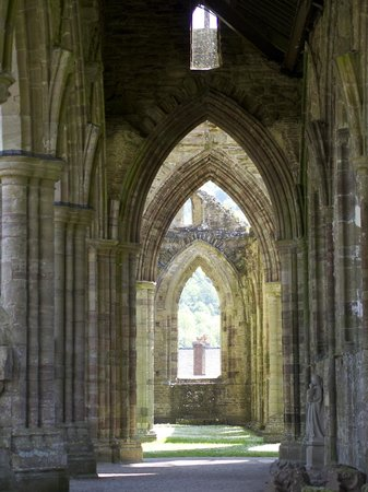 Tintern Abbey: The echoes of Cistercian Monks chanting can almost be heard