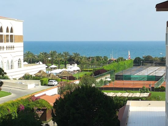 Sirene Belek Hotel: Sea view from my room