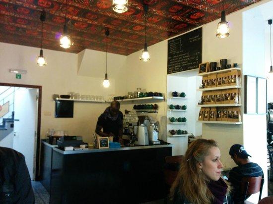 Aksum Coffee House : Interni etiopi(ci)