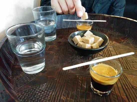 Aksum Coffee House : Il caffè dell'Aksum!