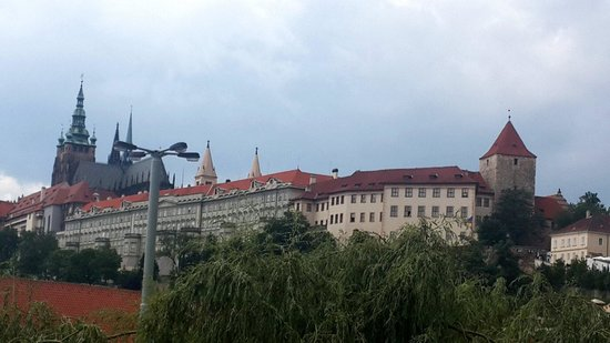 Hotel Klarov Prague : A room with a view