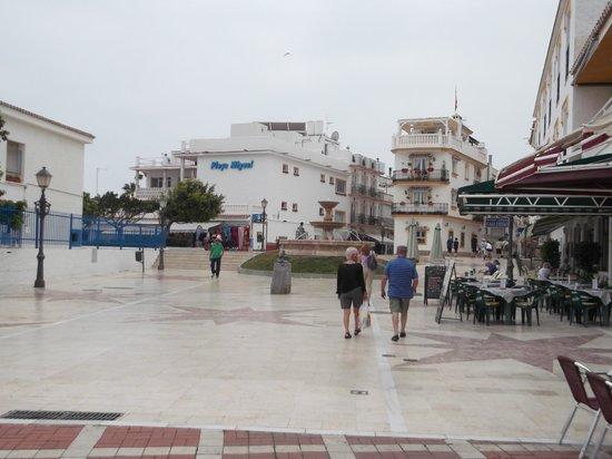 La Carihuela: view from cabello