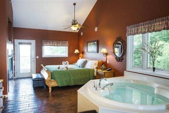 Hermann Hill Vineyard Inn & Spa and River Bluff Cottages : Osage Indians Cottage