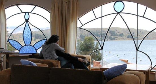 Hotel La Cupula: Vista de la habitación