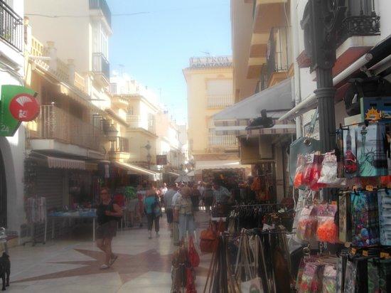 La Carihuela : street