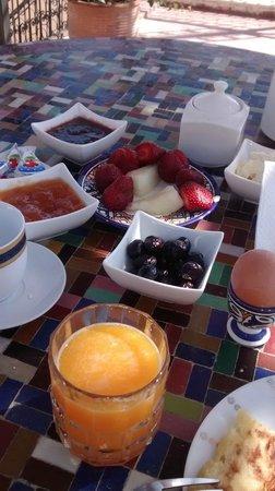 Dar Kenza: Café da manhã delicioso
