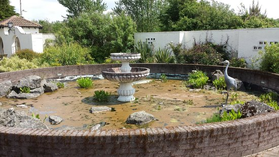 Solway Holiday Village: The fountain