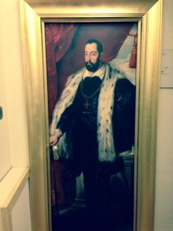 Hotel Vasari Palace: le porte...