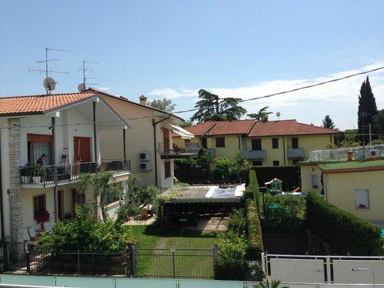 Hotel Villa Katy: View from balcony