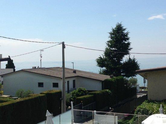 Hotel Villa Katy: view from the balcony