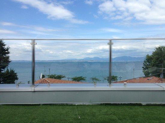 Hotel Villa Katy: View from top balcony