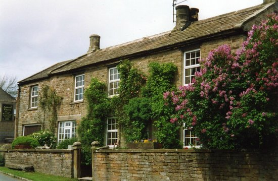 Abbots Thorn: View of the house - south facing over beautiful Coverdale