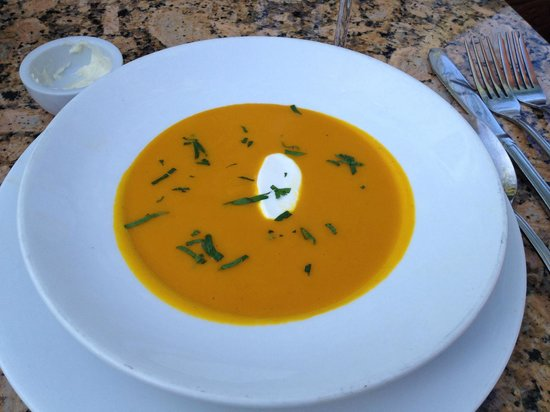 LaSalette Restaurant: carrot ginger soup