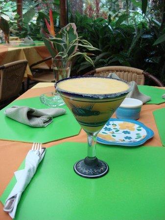 Hosteria Mariposas de Mindo: Welcome drink!