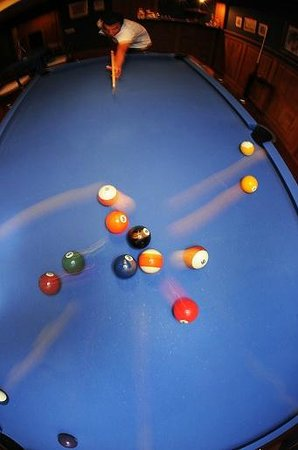 Assos Alarga, Bed and Breakfast: Pool Table