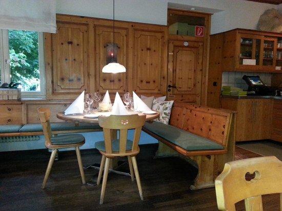 Hotel Gruener Baum : ristorante