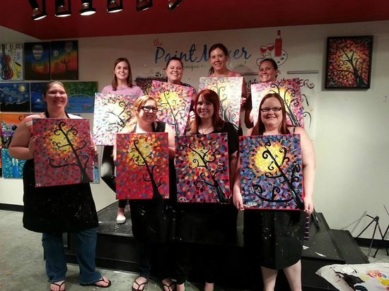 The Paint Mixer: Girls night
