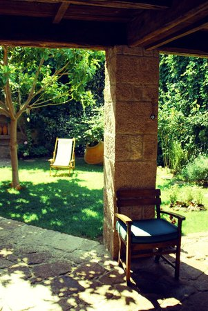 Assos Alarga, Bed and Breakfast: courtyard