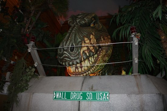 T-Rex at Wall Drug