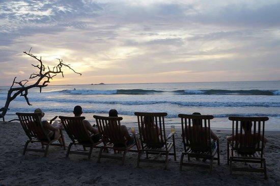Langosta Beach Club : Sunset