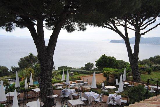 Hotel Souleias: La vue de la chambre