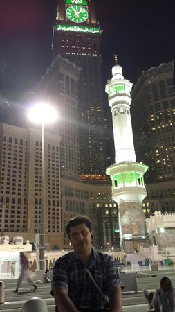 Pierre noire : پشت بام مسجد الحرام