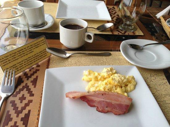 Tierra de Leyendas Boutique Hotel : Morning Breakfast