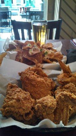 Chicken & chips - Magnolia Grill