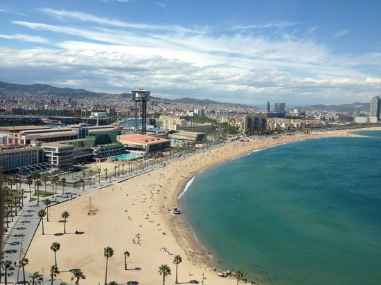 W Barcelona: Great view
