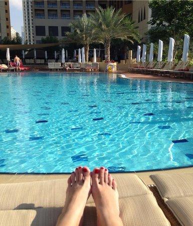 Amwaj Rotana: the pool