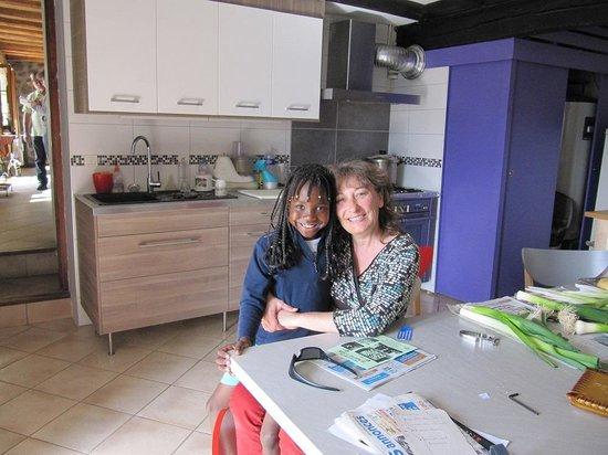 Buissard, France : Nathalie & sa fille