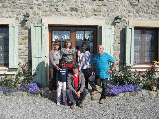 Les Chemins Verts : avec la famille au complet