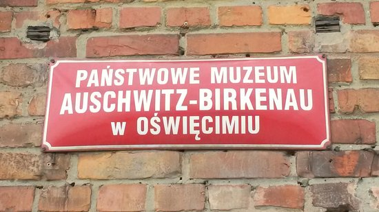 Krakow Tours: Sign at Birkenau / Auschwitz