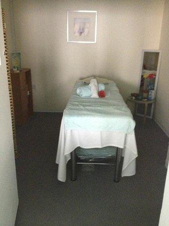 Napa Plaza Hotel : spa room