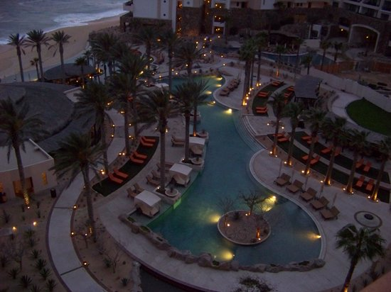 Grand Solmar Land's End Resort & Spa: Evening view from the balcony