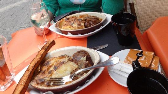 Belucci Restaurant : Мясные котлеты и картофельный мусс