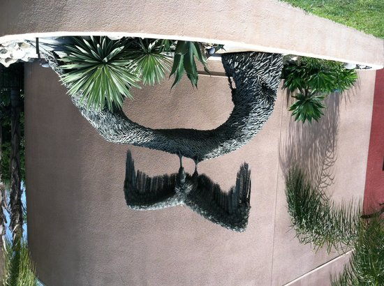 San Bernardino County Museum: Guess what this is made of