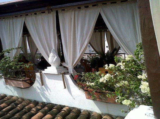Hotel Don Pedro de Heredia : terraza