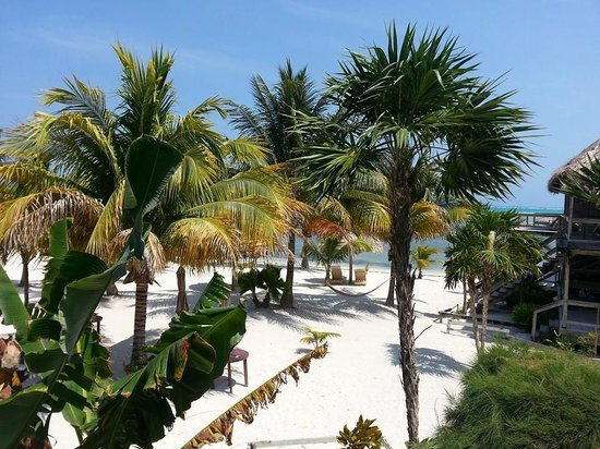 Exotic Caye Beach Resort: View from our balcony!