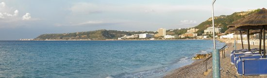 Avra Beach Resort Hotel - Bungalows: Widok na miejscowość Ixia