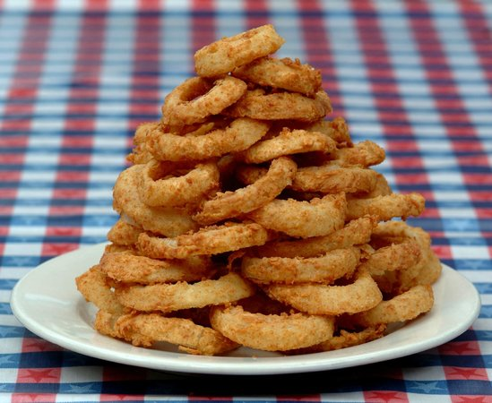 Clear Springs Cafe: Texas Onion Rings