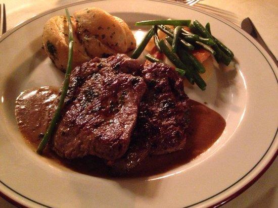 Lake Duluti Serena Hotel : Grilled Beef Cutlet, which was Devine!