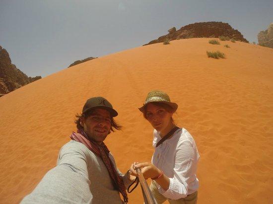 Khaled's Camp : Duna Wadi Rum